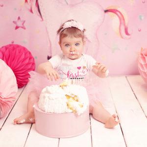 Photographe professionnelle Bébé anniversaire enfant Metz