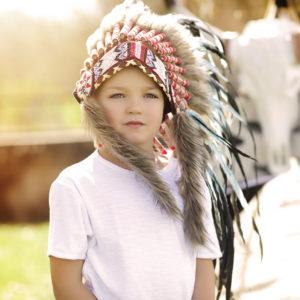 Séance photo thème indien enfant Metz